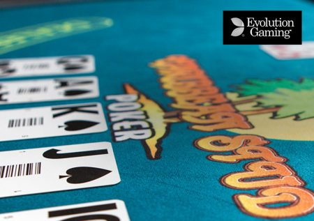 Live Caribbean Stud Poker Evolution Gaming