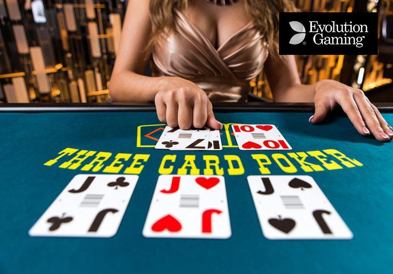 Live Three Card Poker