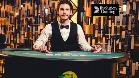 Caribbean Stud Poker ao Vivo Evolution