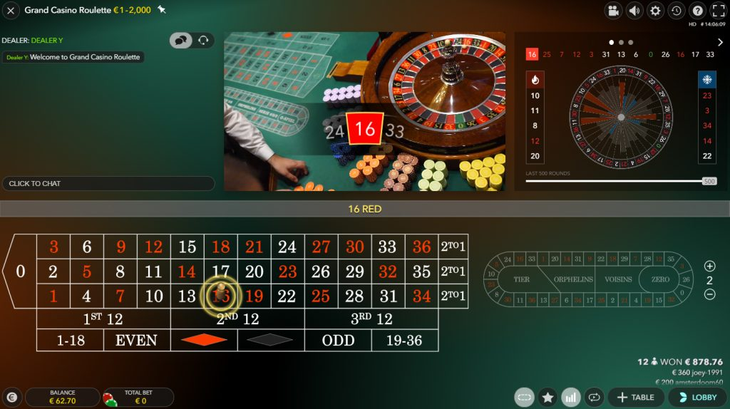 dual play roulette evolution