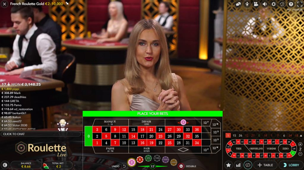 french roulette evolution gaming 2