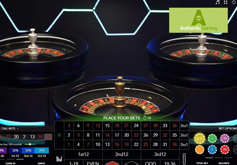 Auto Roulette Live Authentic Gaming Find Out Where To Play