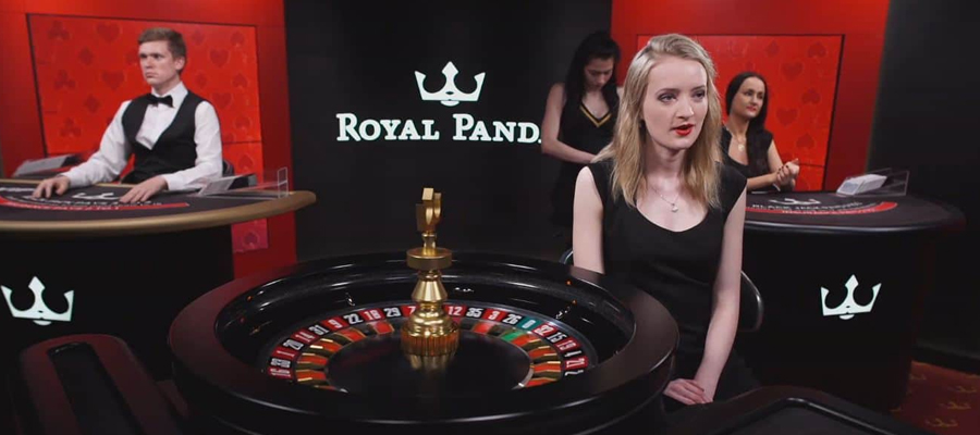 live casino royal panda