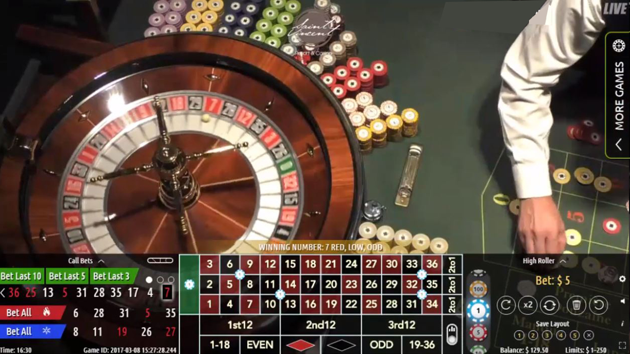 Authentic Roulette Professional Demo3
