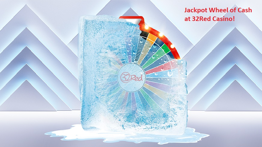 Spin The Jackpot Wheel Of Cash At 32red And Play For A Daily Chance Of Winning 5 000 Livecasino24 Com