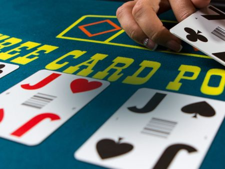 Live Three Card Poker Strategy