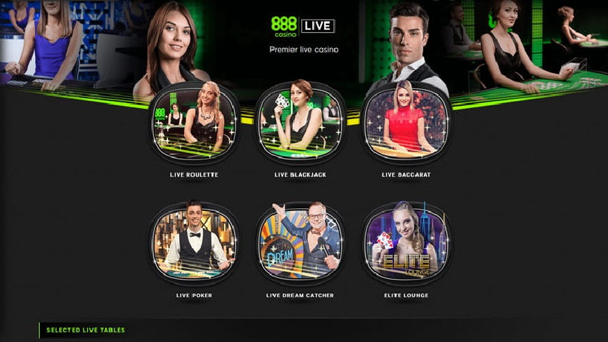 Grab A Bonus At 888 Casino When The Winning Number On Live