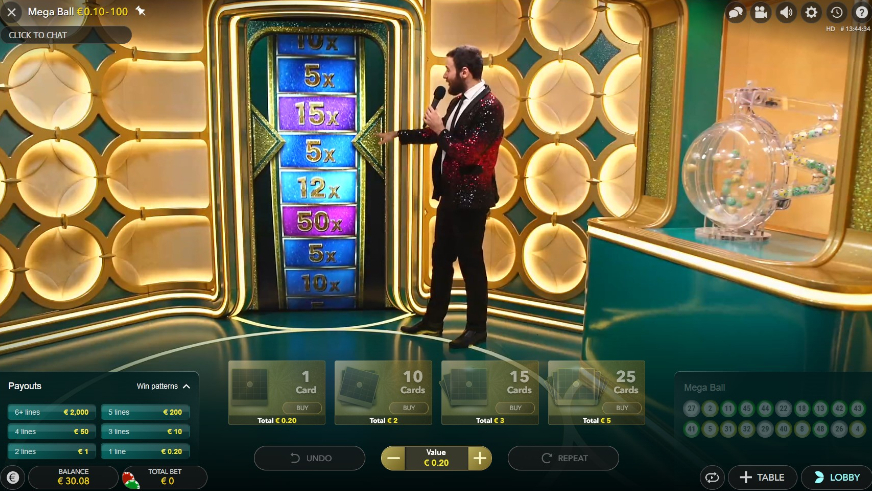 Live Casino Lottery-Like Games: What's on Offer? | Livecasino24.com
