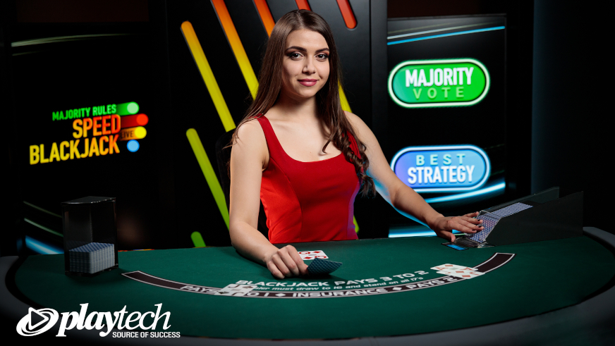 Majority Rules Speed Blackjack: New Playtech Live Casino Game