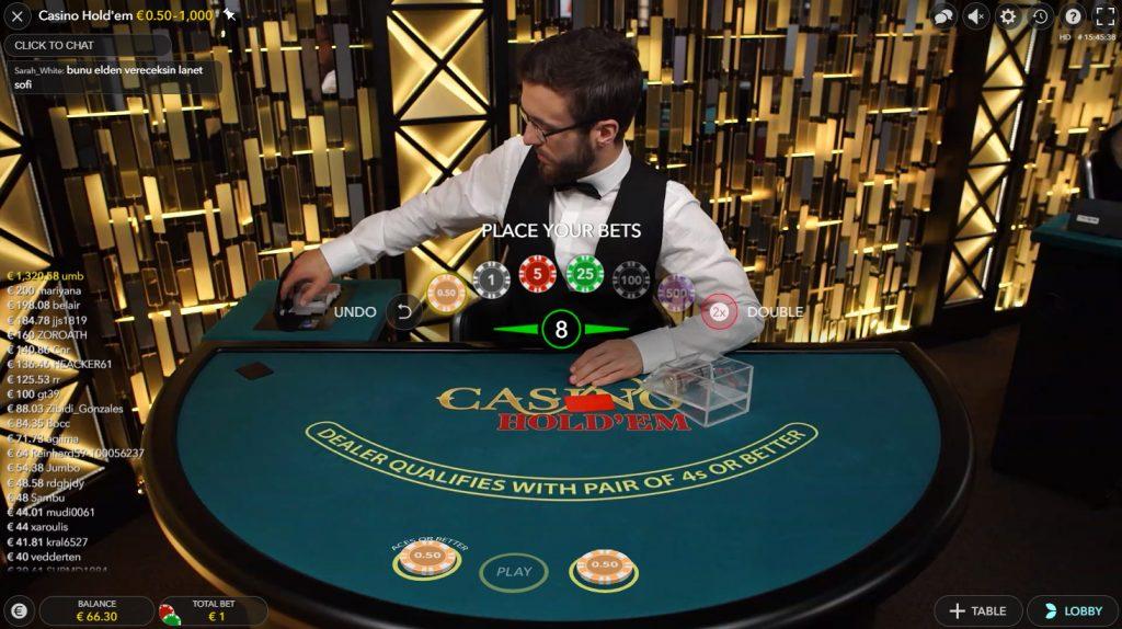 bildschirmfoto live casino holdem