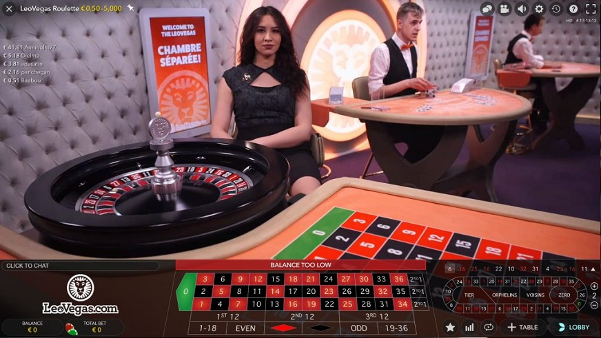 Play Live Roulette At Leovegas Casino To Win A Share Of 2 500 In