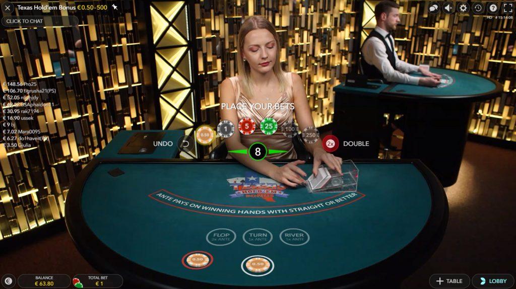 Texas bonus poker evolution