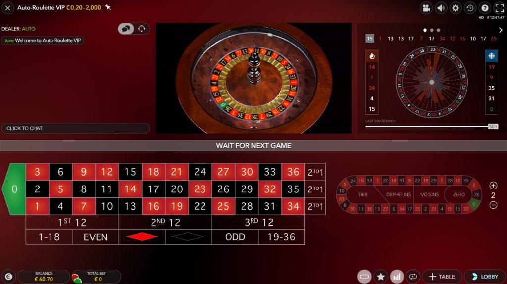 evolution gaming slingshot auto roulette