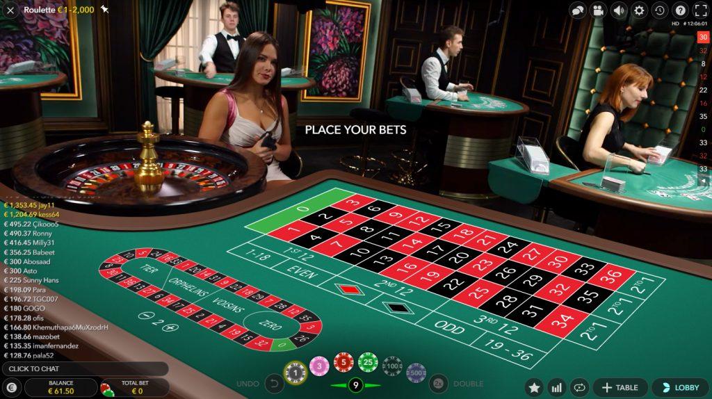 live european roulette casino evolution