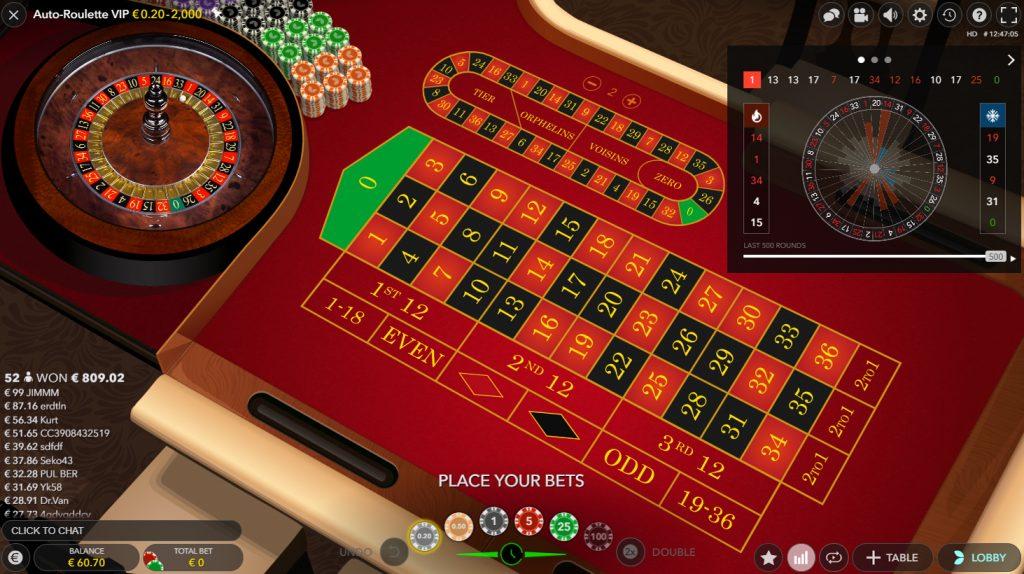 slingshot auto roulette bildschirmfoto