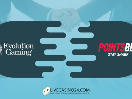 Evolution Gaming Partners PointsBet for US Live Casino Games Launch