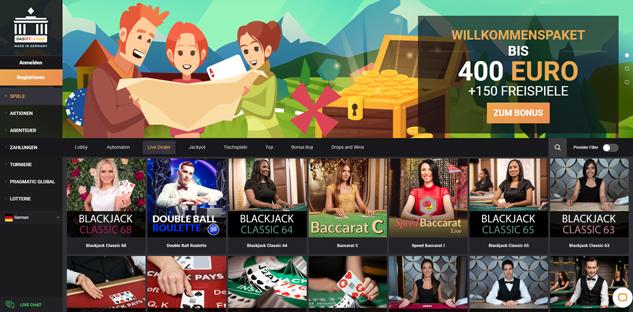 dasistcasino live casino spiele