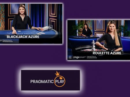 Pragmatic Play Launches Blackjack Azure and Roulette Azure