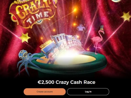 Take Part in the €2,500 Crazy Cash Race at Mr Green Casino