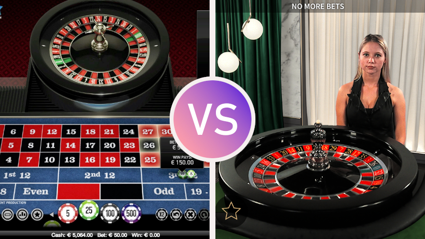 Live Dealer Games vs RNG Games: Pros and Cons | Livecasino24.com
