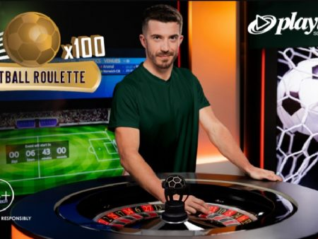 Playtech's Live Football Roulette Relaunched in the New Let's Play Studio