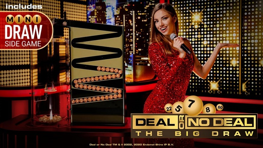 Playtech Lança um Novo Jogo de Casino ao Vivo Exclusivo, Deal or No Deal The Big Draw