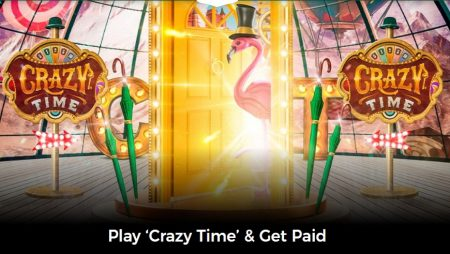 Get Paid for Playing Evolution's Crazy Time at Mr Green!