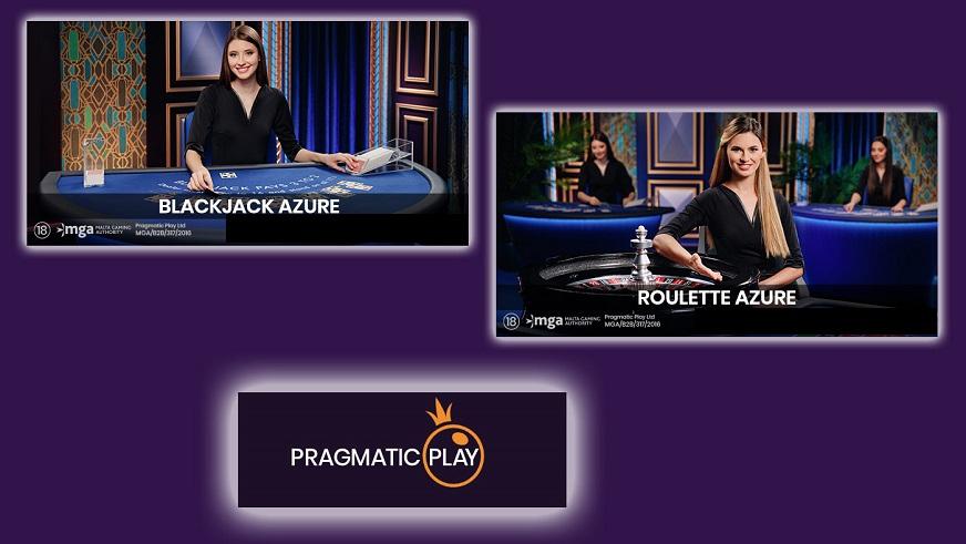 Pragmatic Play lanceert Blackjack Azure en Roulette Azure