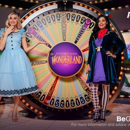 Playtech gaat live met Adventures Beyond Wonderland Game Show