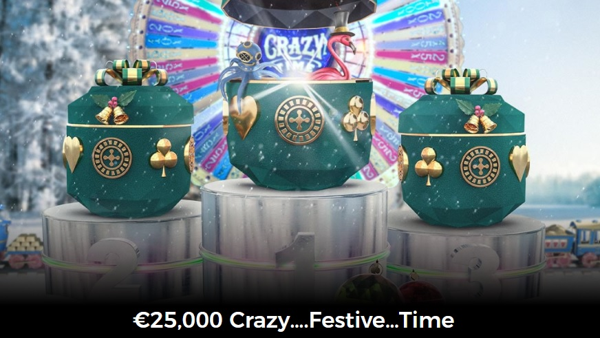 It's Crazy Festive Time at Mr Green Casino for All Live Casino Fans!