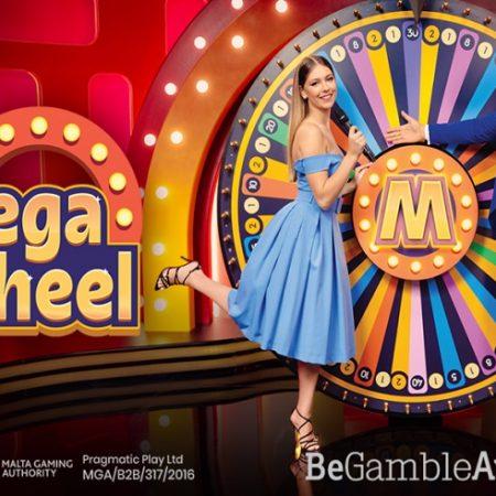 O Primeiro Game Show de Casino ao vivo da Pragmatic Play Está Aqui, Então Prepare-se Para Girar a Mega Wheel!