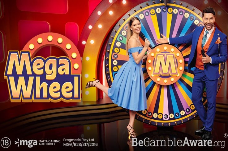 Pragmatic Play's First-Ever Live Casino Game Show Is Here, So Get Ready to Spin the Mega Wheel!