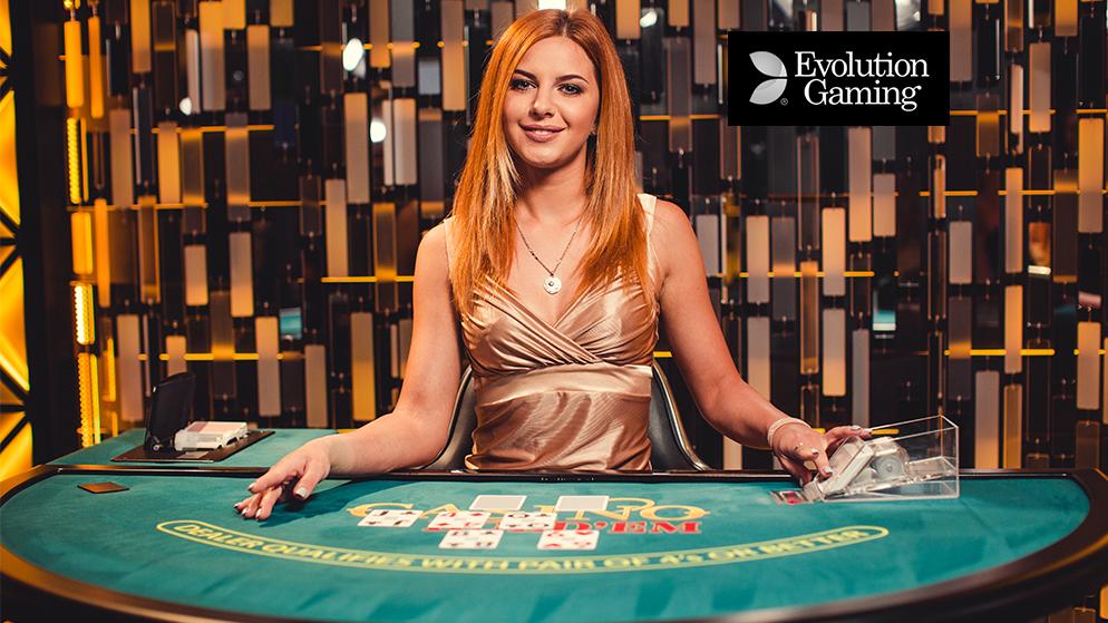 Live Casino Hold'em Evolution Gaming