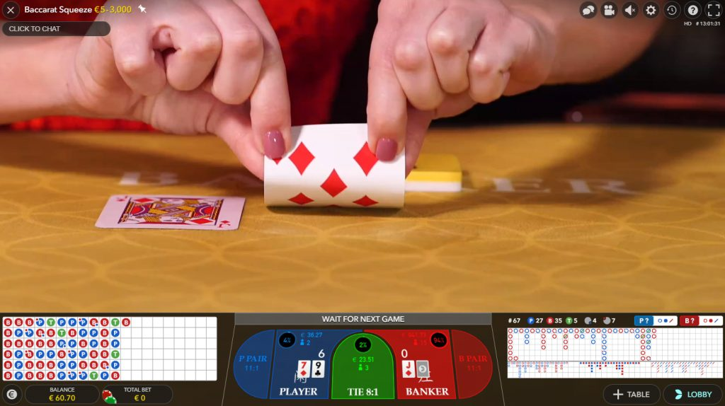 baccarat squeeze live