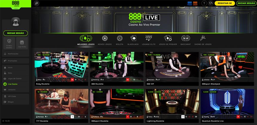 Como começar a jogar em um casino ao vivo
