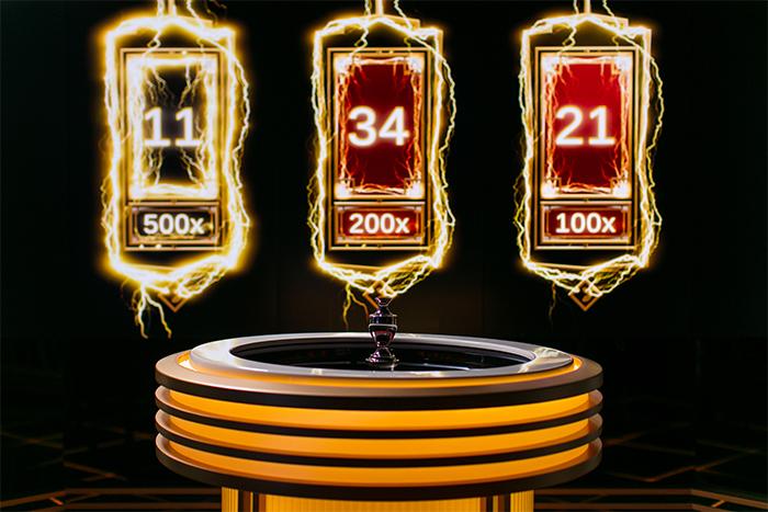 Elke ronde nieuwe Lightning Numbers