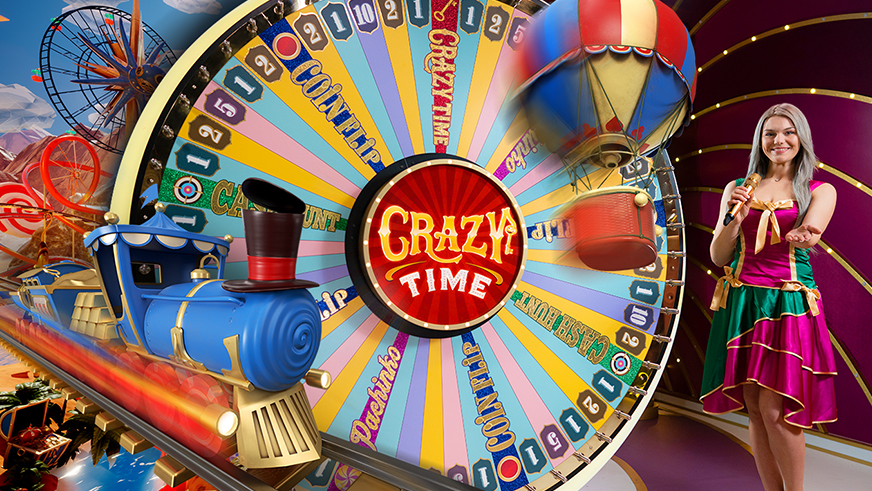 De meest populaire live casino game shows met een Rad van Fortuin