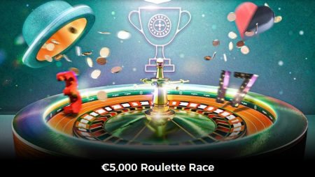 Join the €5,000 Roulette Race at Mr Green Casino!