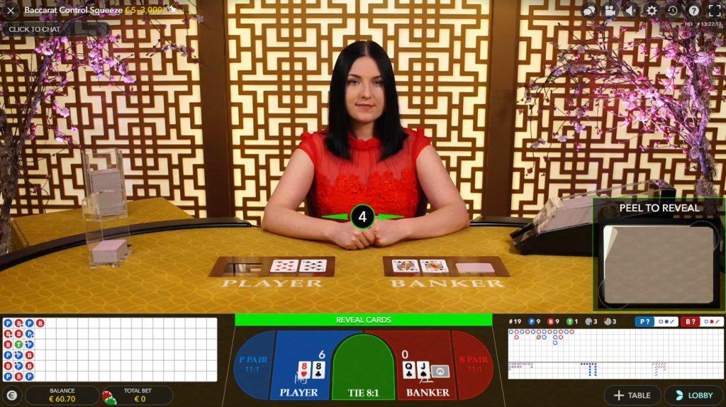 Baccarat Control Squeeze casino