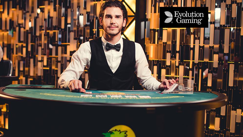 Live Caribbean Stud Poker d'Evolution