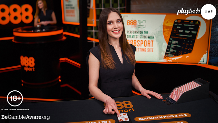 Playtech Reveals New Live Casino Deal with 888