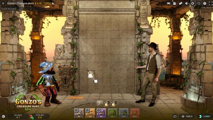 Gonzos Treasure Hunt howto 3