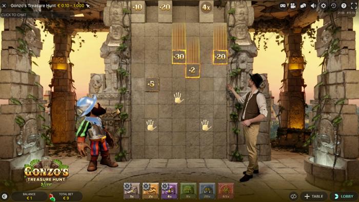 Gonzos Treasure Hunt howto 5