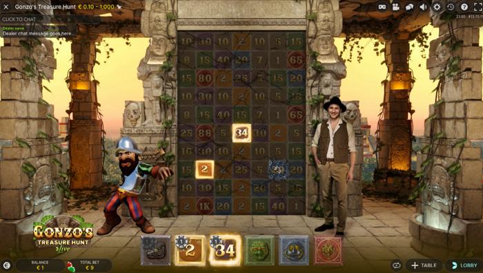Gonzos Treasure Hunt howto 6