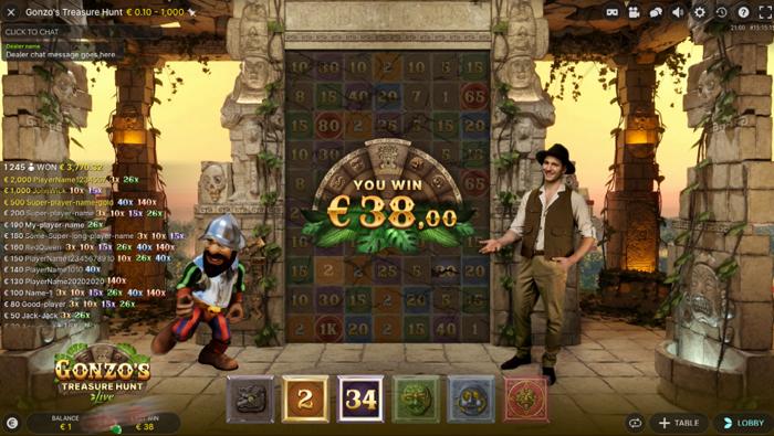 Gonzos Treasure Hunt howto 7