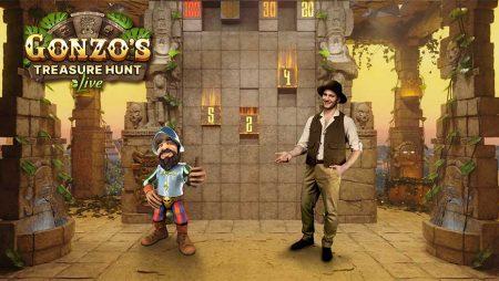 Hoe speel je Evolution Gonzo's Treasure Hunt Live?