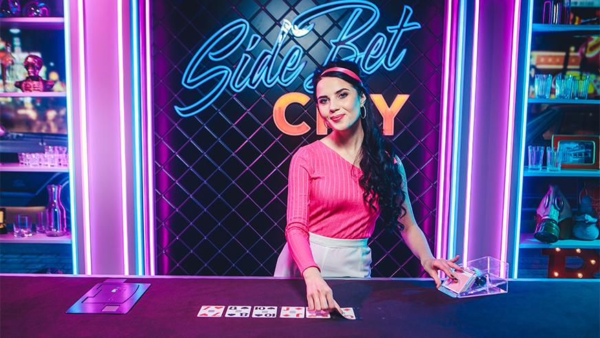 Side Bet City Jogo de Casino ao Vivo