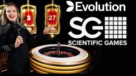 Evolution and Scientific Games Partner for Land-Based Lightning Roulette