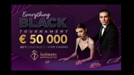Join the Everything Black Tournament at Vbet Casino and Win a Share of €50,000