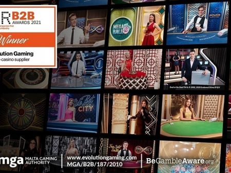 For the 12th Year in a Row, Evolution Wins Live Casino Supplier of the Year Award at the EGR